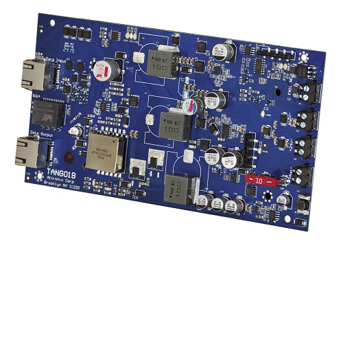 Altronix Tango1B PoE Driven Power Supply with Lithium Battery Backup, Board