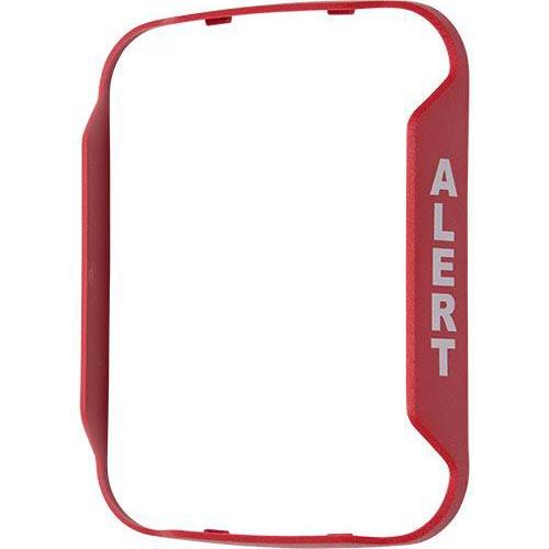 Alert Red Bezel For Wall-Mount Speaker Strobe - Works With Sprl, Spsrl Models