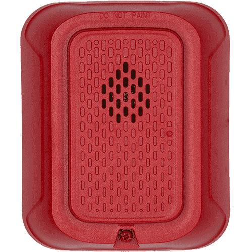 System Sensor HRL L-Series, Wall-Mountable, 12/24 Volt, Horn, Red