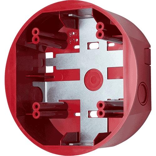 System Sensor SBBCRL Mounting Box for Chime, Strobe, Speaker, Horn - Red