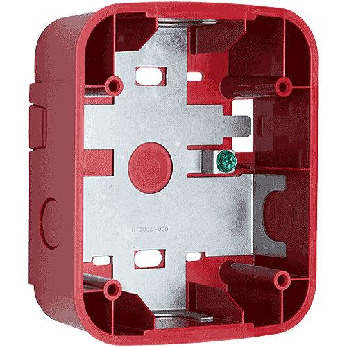 System Sensor SBBRL Mounting Box for Chime, Horn, Strobe - Red