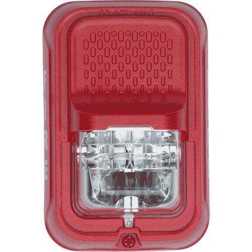 System Sensor Strobe Red Wall Compact