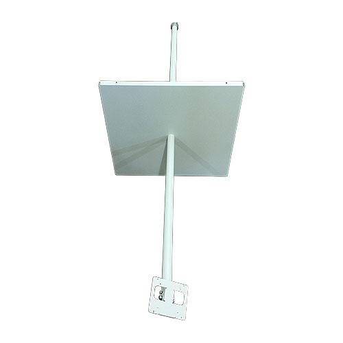Monitor Mount W Adj Pole 5.5ft Below Ceiling