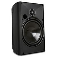 Proficient Audio AW525 2-way Speaker - 125 W RMS - Black