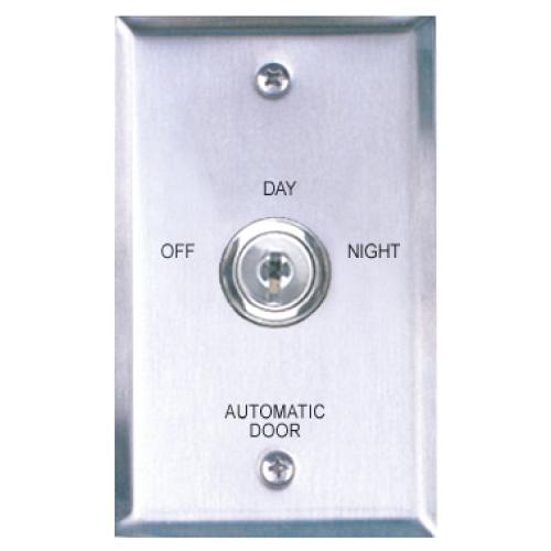 Key Switch W/Stainless Steel (Single Gang) Faceplt