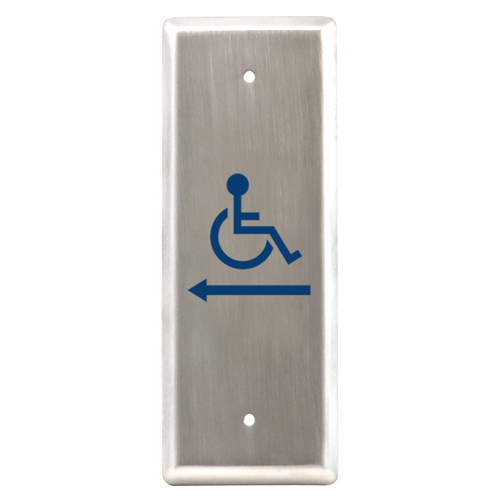 All Active Switch, With  Wheelchair Logo Arrow Lef