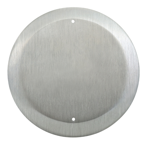 """Push Btn 4"""" Round All Active Blank Faceplate"""