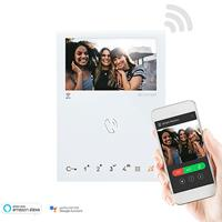 "Comelit 2-wire Mini Handsfree Wi-fi - 4.3"" Hands-free Door Entry Monitor, White"
