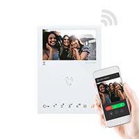 Comelit Mini Handsfree Wi-Fi Monitor. S2