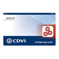 CDVI MASTERBIO Master Card for Biosys Reader