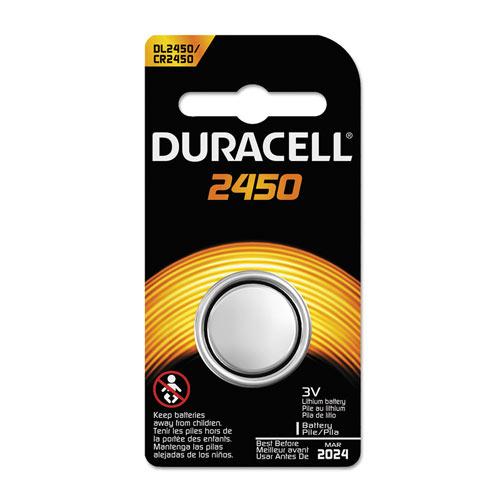 Duracell DL2450BPK 3V Lithium Coin Battery