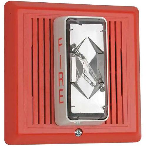 Edwards Signaling Fire Alarm Horn/Strobe 24 VDC, 225 mA Peak