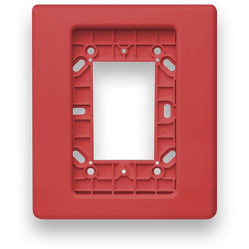 Edwards Signaling Mounting Ring for Mounting Box - Red