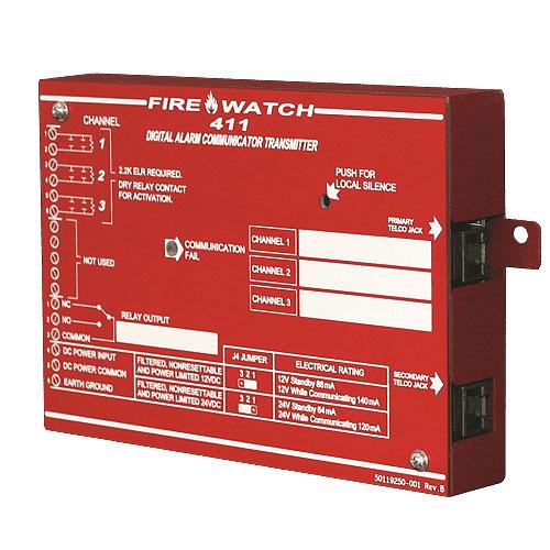 Fire-Lite FireWatch 411 Fire Alarm Control/Communicator