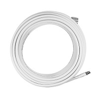 10' Sc-240 Cable, Fme-Female/N-Male Conns, Wht