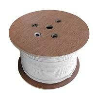 1, 000' Sc-400 Coax Cable W/O Connectors, White