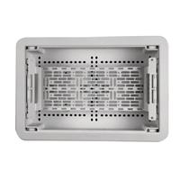 """9"""" Dual-Purpose In-Wall Enclosure with 5"""" Mounting Plate"""