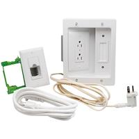 Flat Screen TV Pro Power & Cable Management Kit