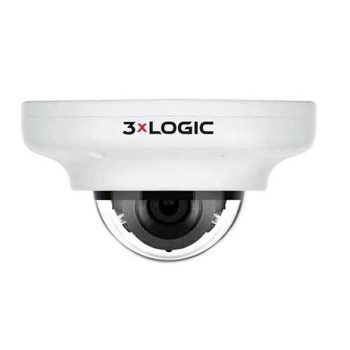 3xLOGIC VISIX VX-5M4-MD-IAW-C256 5 Megapixel Network Camera - Mini Dome