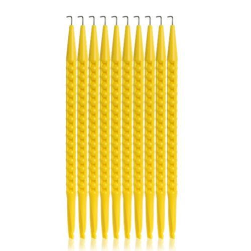 Spudger NO Insulation, Yellow Plastic, 10 Pk