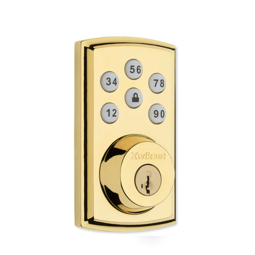 Smartcode 888 Polished Brass