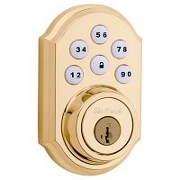 Smartcode Traditional Electronic Deadbolt With Z-Wave Technology