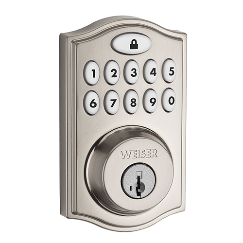 Weiser SmartCode 10 Traditional Electronic Lock with Z-Wave