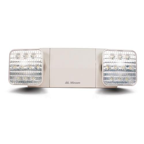 Mircom Twin Spot LED Emergency Light (Remote Capable)