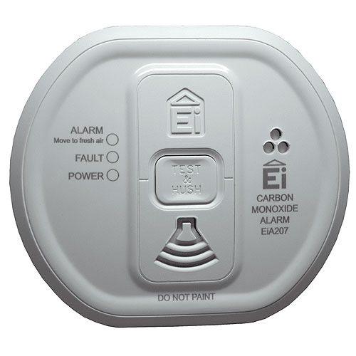 CO Alarm - UL2034, CSA 6.19-01 listed