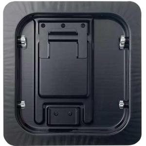 Recessed Wall Mount Back (Black)