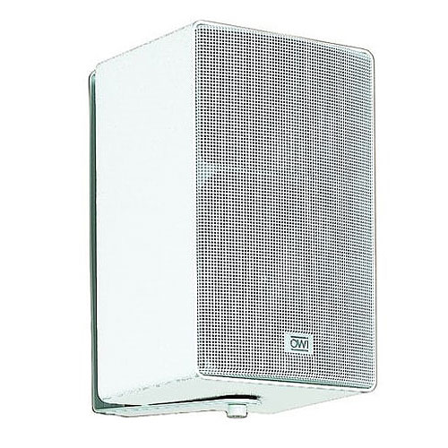 OWI 703i 3-way Indoor/Outdoor Surface Mount, Wall Mountable, Ceiling Mountable Speaker - White