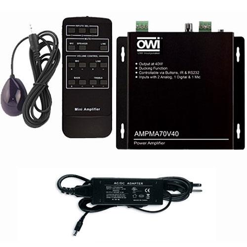70v 40w Digital Mini Amplifier
