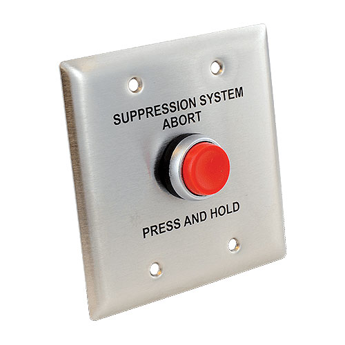 Abort Switch Assembly - Blue