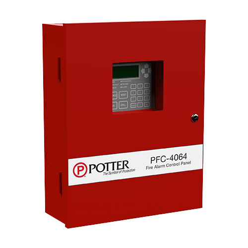 Potter PFC-4064 Conventional Fire Alarm Control Panel