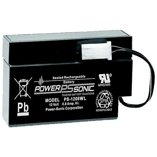 Power-Sonic 12v 0.8ah Sla Battery