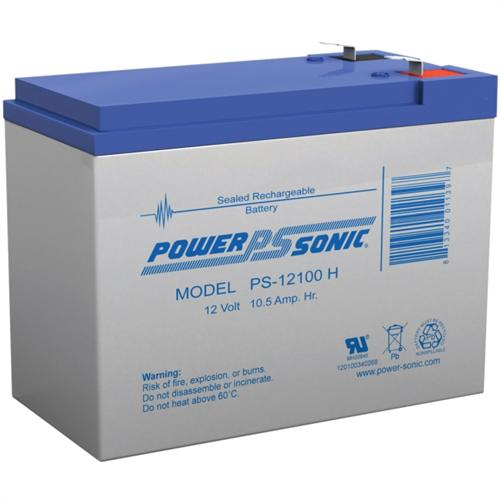 Power Sonic 12v 10.5ah Rechargeable Sealed Lead Acid Battery