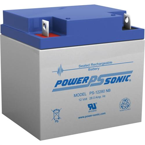 Power Sonic 12v 28ah Rechargeable Sealed Lead Acid Battery Nb