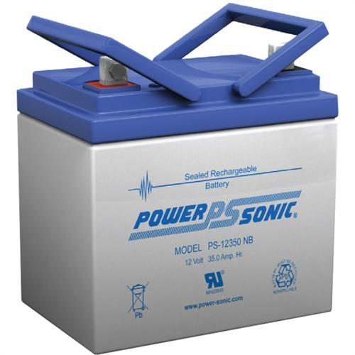 Power Sonic PS-12350NB 12V 35Ah Rechargeable Sealed Lead Acid Battery