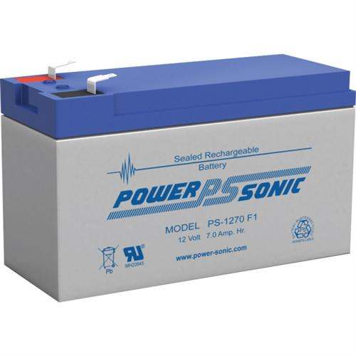 Power Sonic PS-1270 12V 7Ah Rechargeable Sealed Lead Acid Battery