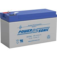 Power Sonic PS-1270, 12V 7AH Sealed Lead Acid Battery