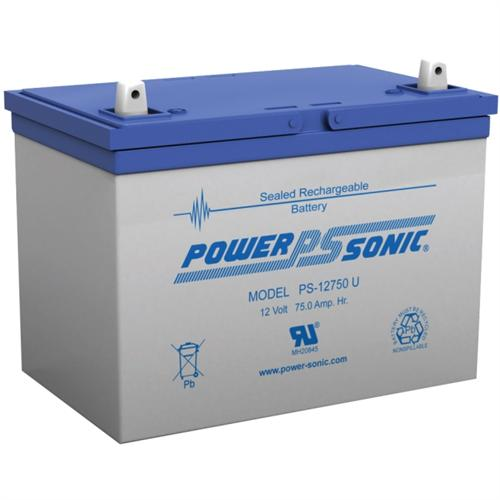 Power Sonic PS-12750 12V 75Ah Rechargeable Sealed Lead Acid Battery