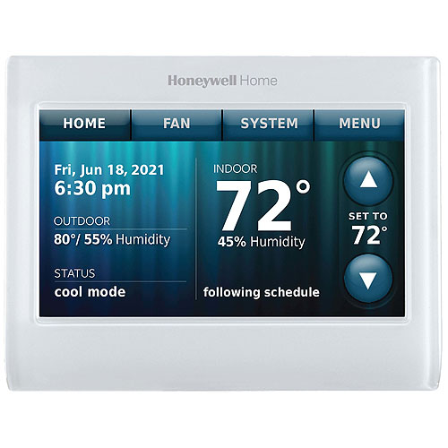 Honeywell Home TH9320WF5003/U WiFi 9000 Color Touchscreen Thermostat