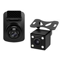 Dual Camera Dashcam Wifi - 64gb Sd Card