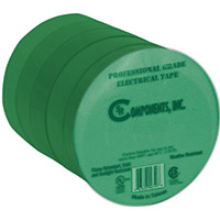 5 Pk Green Elec Tape