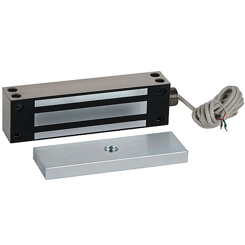 RCI 8372D28 MiniMag® Surface Mag Lock DSS Double-Door 750 lb., Aluminum