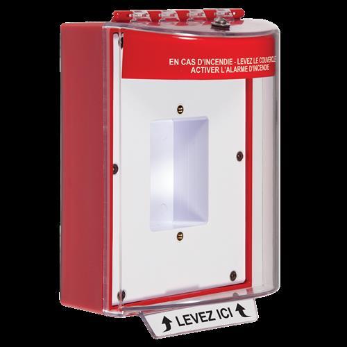 Safety Technology Universal Stpr Enc'd Backbox & Mounting Plate Frnh