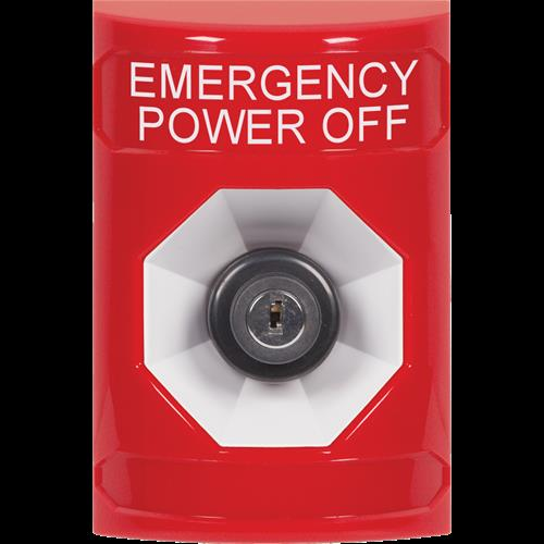 Safety Technology Red Key To Activate Stopper Station With NO Cover