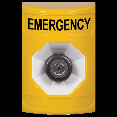 Ylw Key To Activate Stpr St W/No Cvr-Emergency