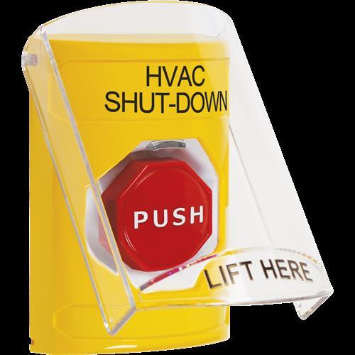 Ylw Illum Key To Reset Ss W/Shld-Hvac Shutdown-Eng