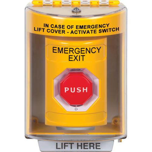 Yllw Ss, 13220 Cvr, Turn/Reset Illum, Emergency Exit